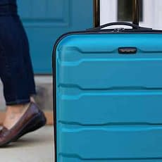 Samsonite travel Suitcases VDiscovery arvinovoyage