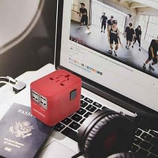 Sublimeware Travel Adapter VDiscovery arvinovoyage