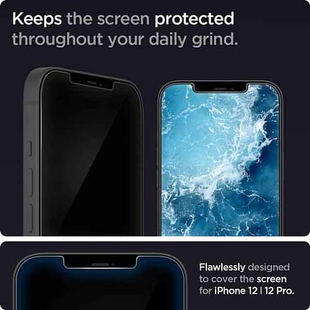 Spigen Tempered Glass Screen Protector iPhone 12 accessories and charger you can buy now vdiscovery arvinovoyage