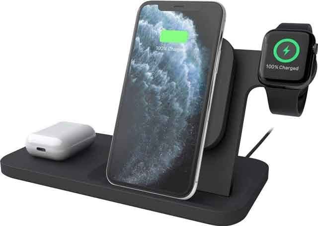 Logitech Powered 3-in-1 Dock Station iPhone 12 accessories and charger you can buy now vdiscovery arvinovoyage