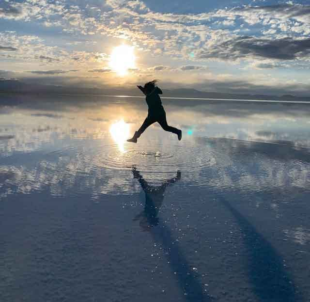 Salar de Uyunihere's a great way to mend your broken heart travel