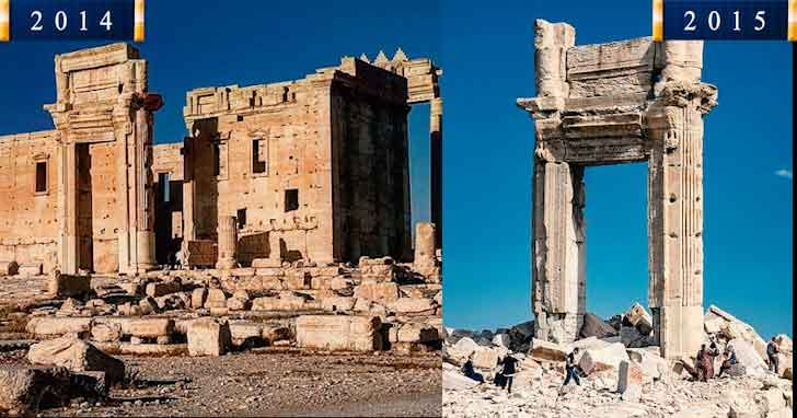 Temple of Bel 20 popular tourist locations under threat that are dying vdiscovery arvinovoyage
