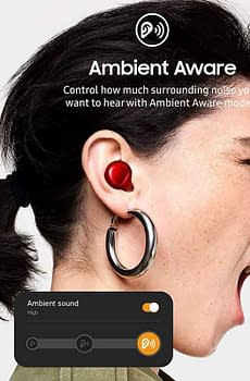 Samsung Galaxy Buds+ Plus Red VDiscovery arvinovoyage