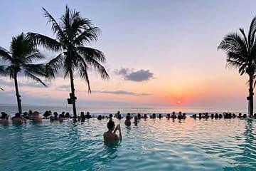 Seminyak Beach coronavirus in bali reopening for travel after lockdown vdiscovery arvinovoyage