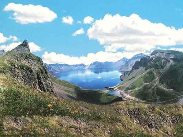 Paektu Mountain  north korea tourism guided tour beautiful places to visit inside pyongyang vdiscovery arvinovoyage