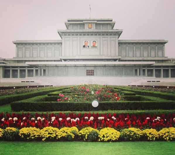 Kumsusan Palace Of The Sun north korea tourism guided tour beautiful places to visit inside pyongyang vdiscovery arvinovoyage