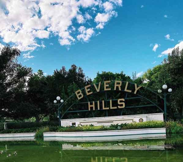 Beverly Hills Road Sign how to spend 24 hours in la  interesting locations in los angeles vdiscovery arvinovoyage