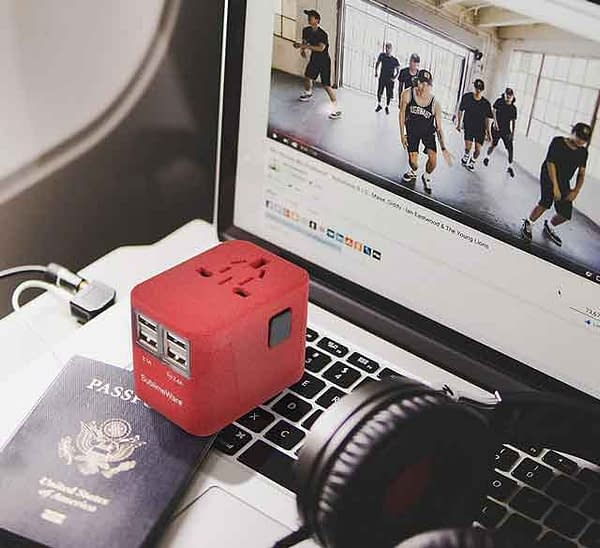 Sublimeware Travel Adapter VDiscovery arvinovoyage