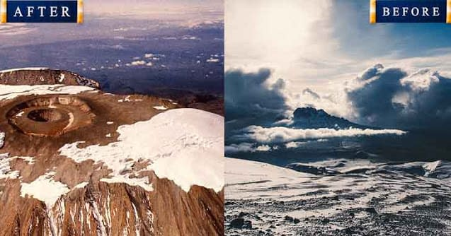 Mount Kilimanjaro 20 popular tourist locations under threat that are dying vdiscovery arvinovoyage