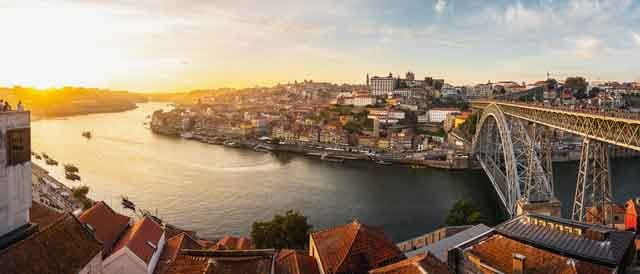 Dom Luis I Bridge Porto Portugal top 10 cheap european destinations on a budget ranked vdiscovery arvinovoyage