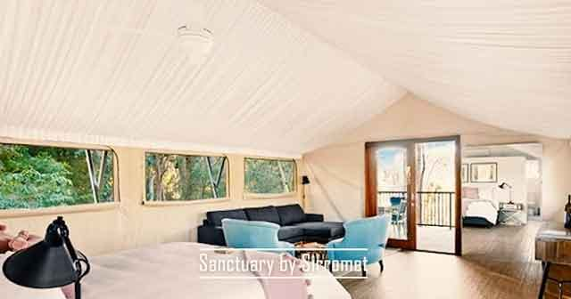 Sanctuary by Sirromet best glamping destinations in the australia luxury camping resorts vdiscovery arvinovoyage