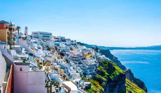 Santorini Greece googles 10 most searched travel destinations in 2021 after quarantine vdiscovery arvinovoyage