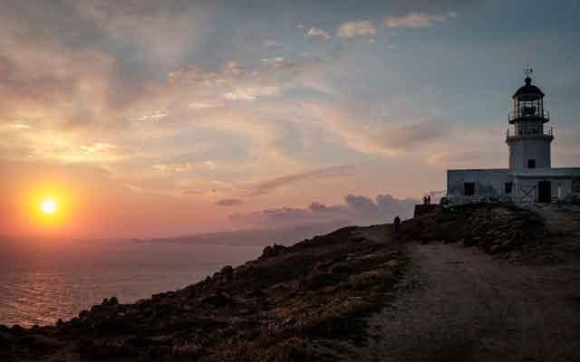 Armenistis Lighthouse mykonos greece mykonos travel guide europe best destinations vdiscovery arvinovoyage