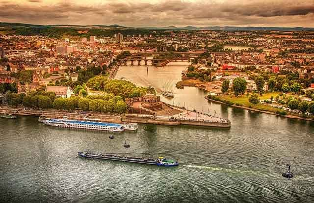 Rhine River  the 10 most popular sailing destinations in the world adventures travel vdiscovery arvinovoyage