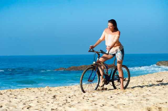 Beach Bikes trip tour mengiat beach nusa dua cleanest beaches in bali vdiscovery arvonovoyage