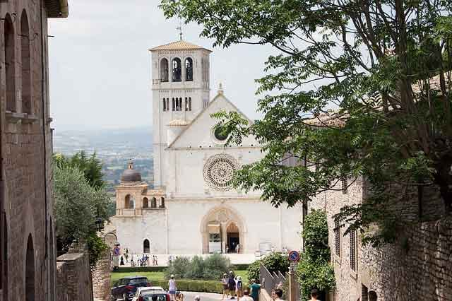 Basilica of Saint Francis of Assisi travelling in italy best places to visit you cant miss vdiscovery arvinovoyage