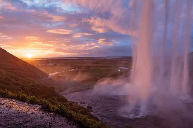Seljalandsfoss Iceland 10 of the World's Most Beautiful Waterfalls to Visit vdiscovery arvinovoyage