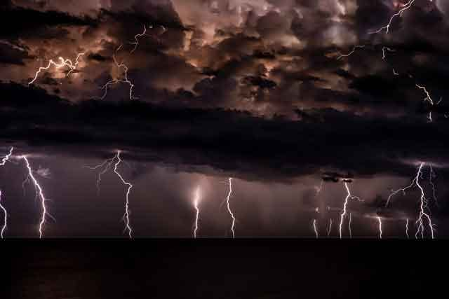Lightning Tourism tired of ordinary travel this is the most dangerous tourist place in the world