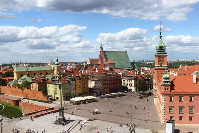 Old Town Warsaw Poland top 10 cheap european destinations on a budget ranked vdiscovery arvinovoyage