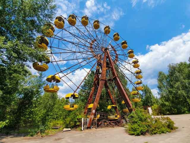Pripyat amusement park tired of ordinary travel this is the most dangerous tourist place in the world