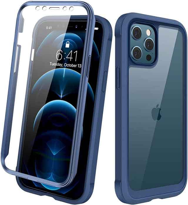 Diaclara Designed for iPhone 12 Pro Max Case Full Body Rugged Case iPhone 12 accessories and charger you can buy now vdiscovery arvinovoyage