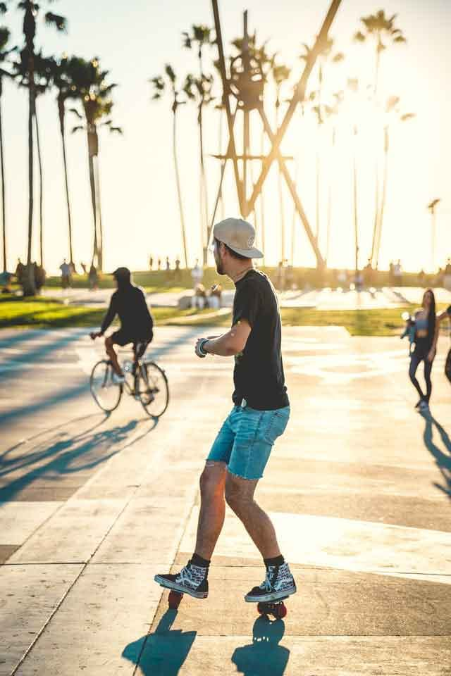 Venice Beach Boardwalk how to spend 24 hours in la  interesting locations in los angeles vdiscovery arvinovoyage