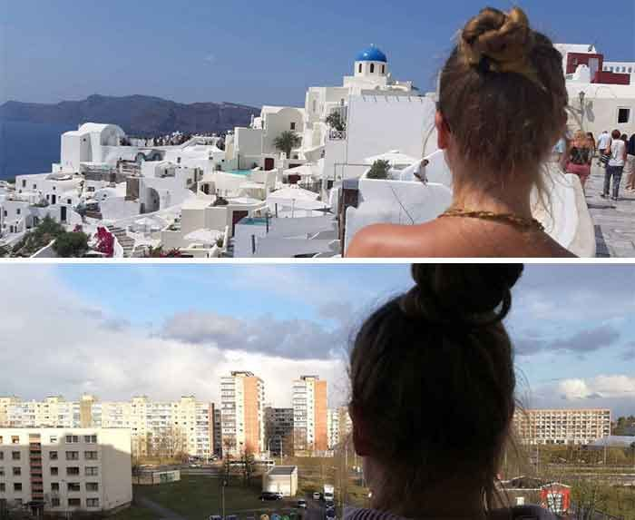mykonos try not to laugh funny pictures quarantine travel at home vdiscovery arvinovoyage