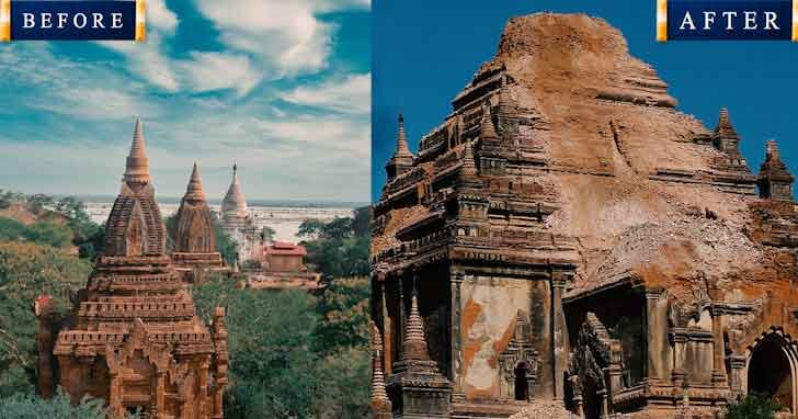 Bagan Myanmar 20 popular tourist locations under threat that are dying vdiscovery arvinovoyage