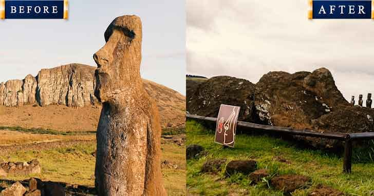 Easter Island 20 popular tourist locations under threat that are dying vdiscovery arvinovoyage