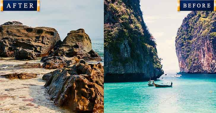 Maya bay Phuket 20 popular tourist locations under threat that are dying vdiscovery arvinovoyage