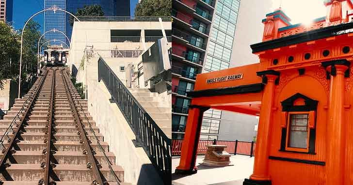 Angels Flight Railway how to spend 24 hours in la  interesting locations in los angeles vdiscovery arvinovoyage
