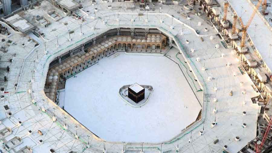 Great Mosque of Mecca photos the quiet emptiness of a world under coronavirus