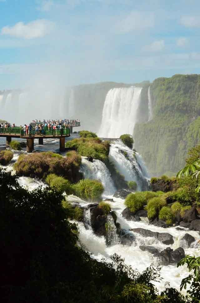 Iguazu Falls Argentina Brazil 10 of the World's Most Beautiful Waterfalls to Visit  vdiscovery arvinovoyage