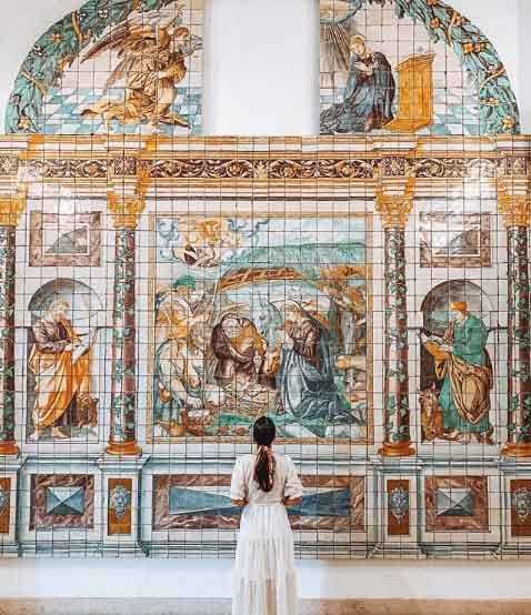 Museu Nacional do Azulejo  lisbon portugal tourist attractions most famous before you go vdiscovery arvinovoyage