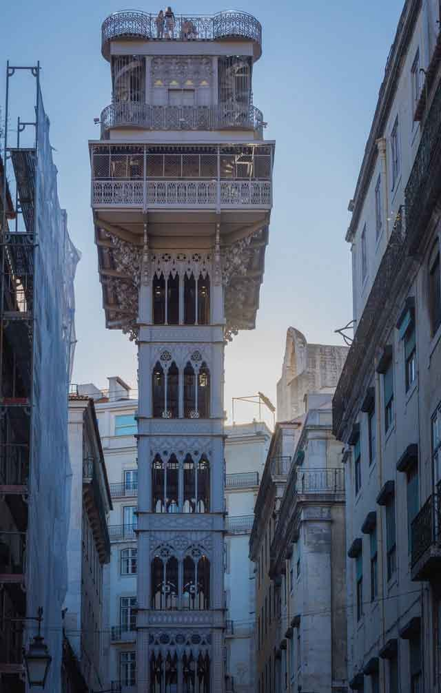 Elevador de Santa Justa Lisboa lisbon portugal tourist attractions  most famous before you go vdiscovery arvinovoyage