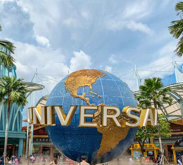 Sentosa Gateway Universal Studios Singapore countries that reopen amusement parks amid coronavirus worries vdiscovery arvinovoyage